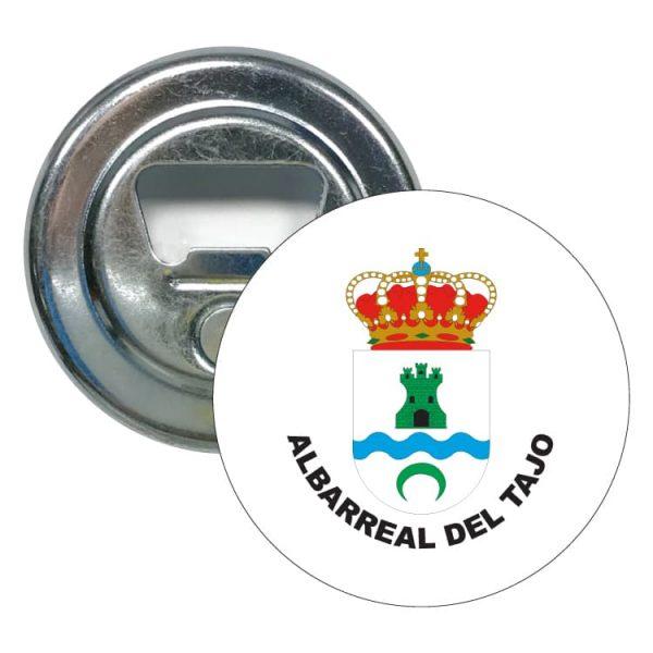 abridor redondo escudo heraldico albarreal del tajo