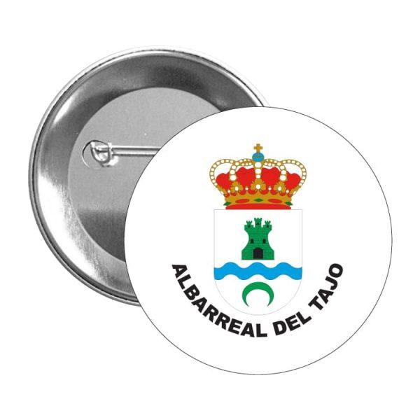chapa escudo heraldico albarreal del tajo