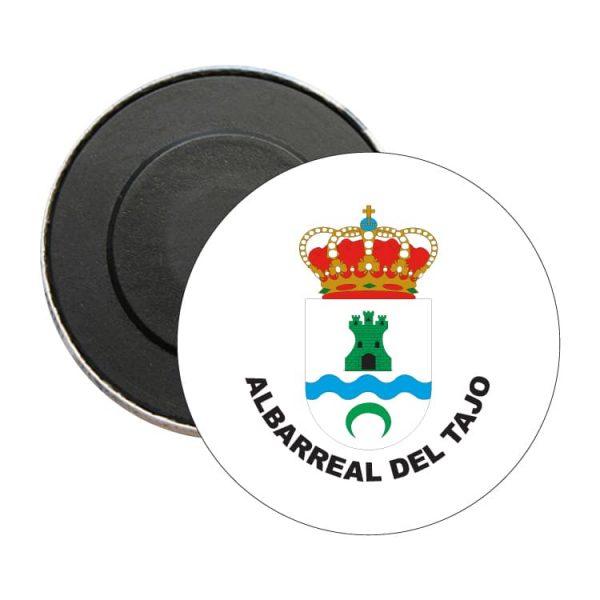iman redondo escudo heraldico albarreal del tajo