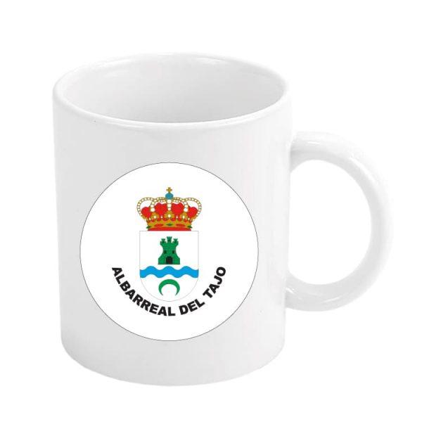 taza escudo heraldico albarreal del tajo
