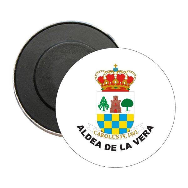 iman redondo escudo heraldico aldea de la vera