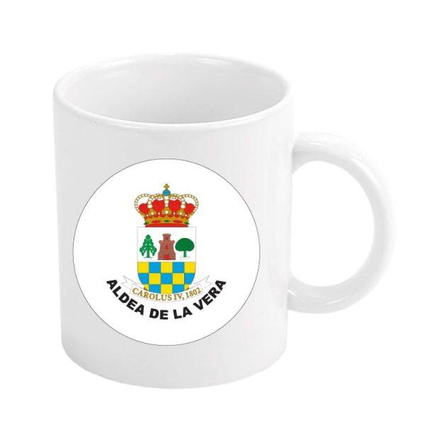 944 taza escudo heraldico aldea de la vera