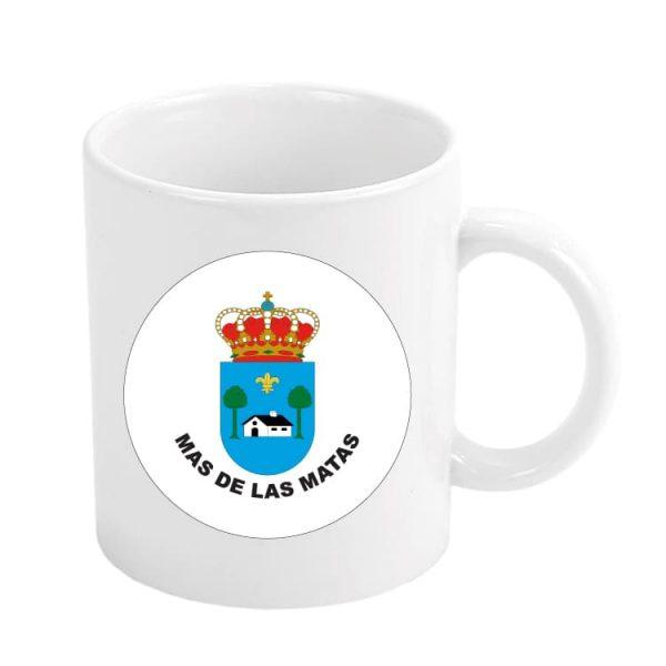 taza escudo heraldico mas de las matas