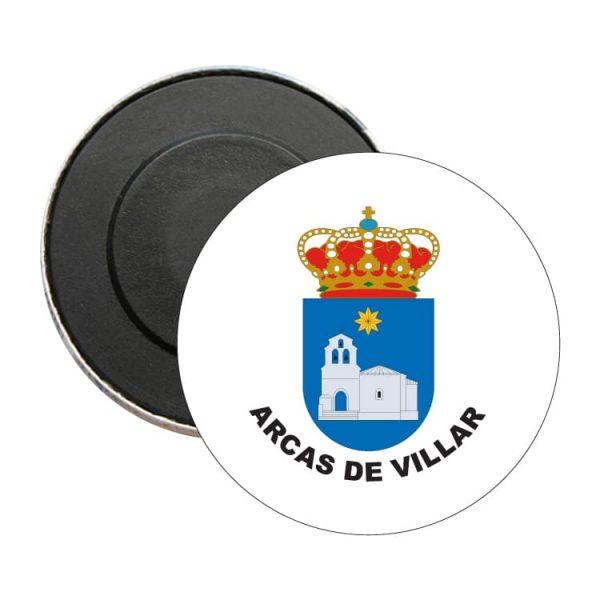 iman redondo escudo heraldico arcas de villar