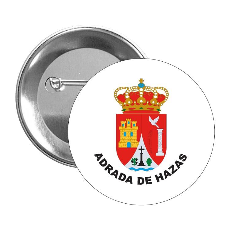 949 chapa escudo heraldico adrada de hazas