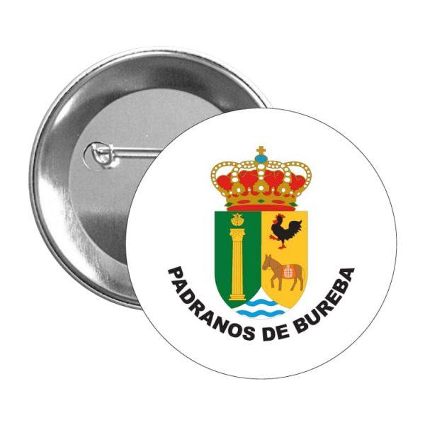 952 chapa escudo heraldico padranos de bureba