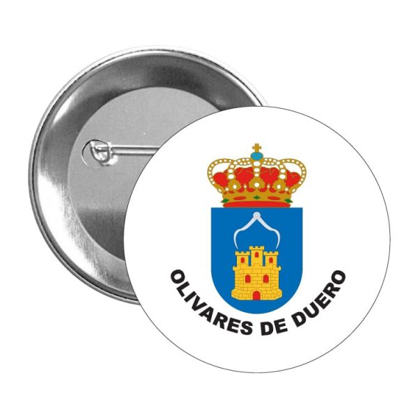953 chapa escudo heraldico olivares de duero