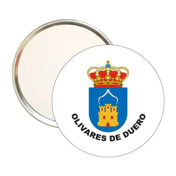 espejo redondo escudo heraldico olivares de duero