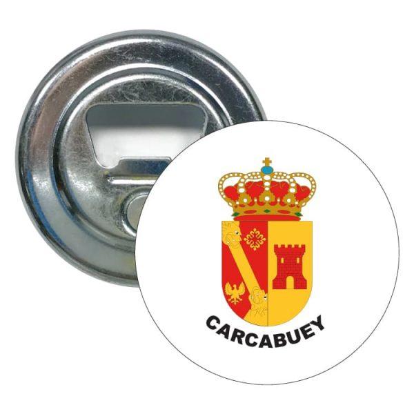 abridor redondo escudo heraldico carcabuey