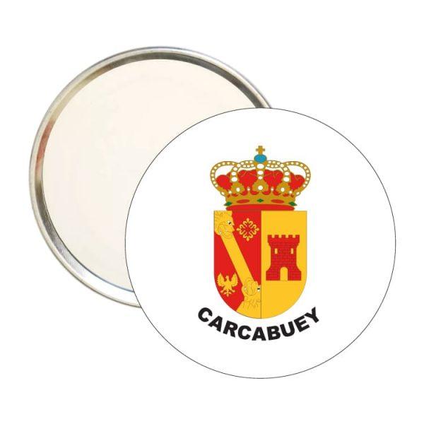 espejo redondo escudo heraldico carcabuey