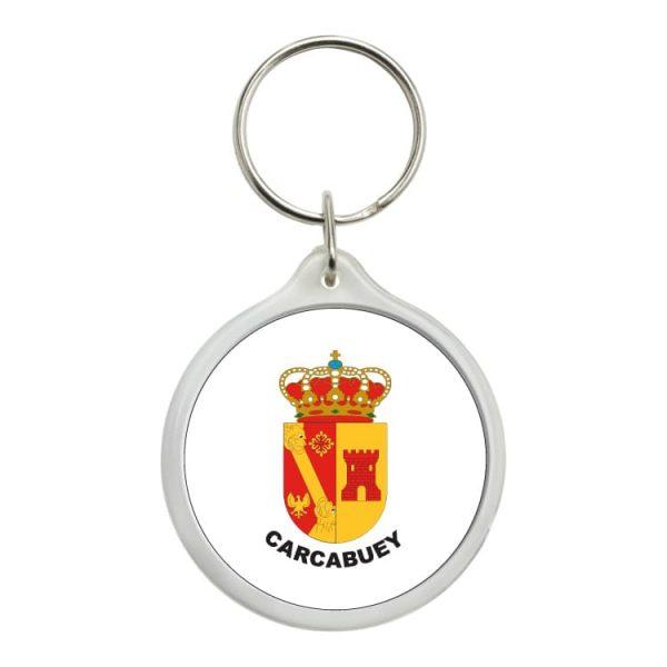 llavero redondo escudo heraldico carcabuey