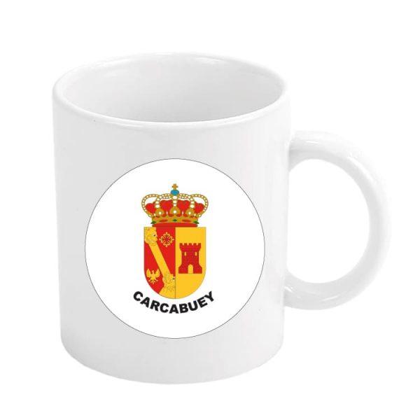 taza escudo heraldico carcabuey