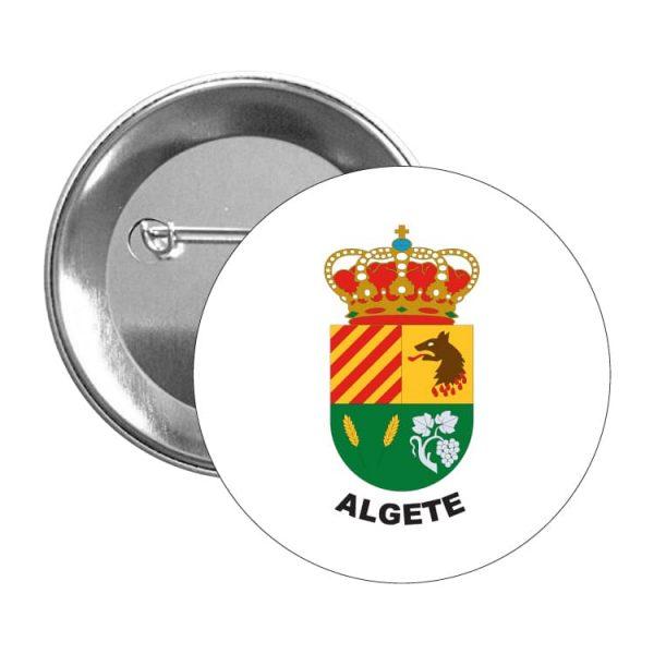 chapa escudo heraldico algete