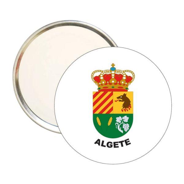 espejo redondo escudo heraldico algete