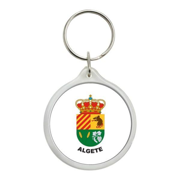 llavero redondo escudo heraldico algete