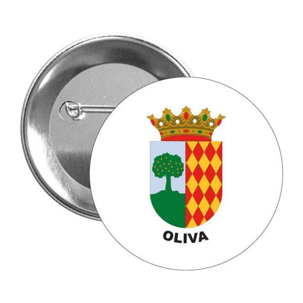 chapa escudo heraldico oliva