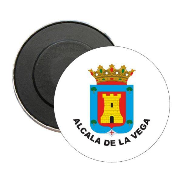 iman redondo escudo heraldico alcala de la vega