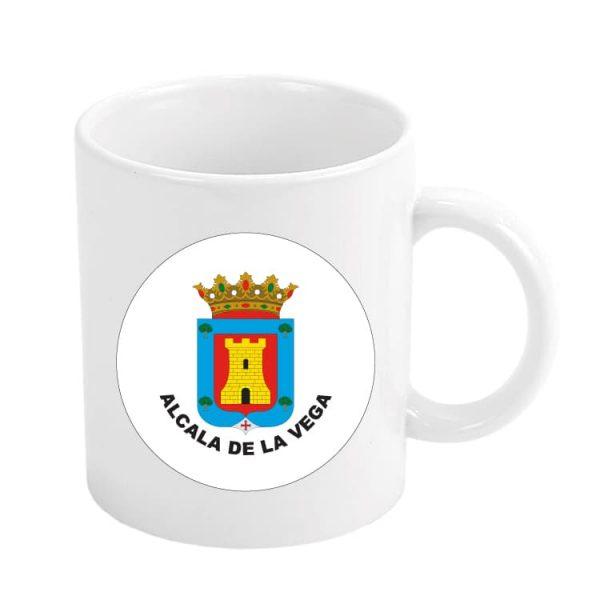 taza escudo heraldico alcala de la vega