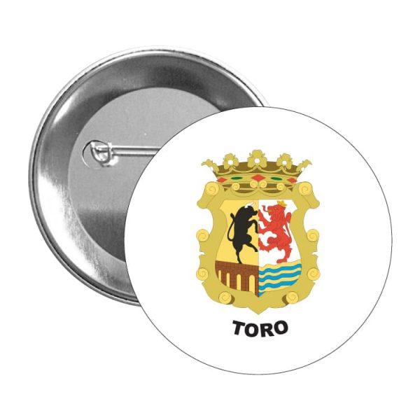 chapa escudo heraldico toro