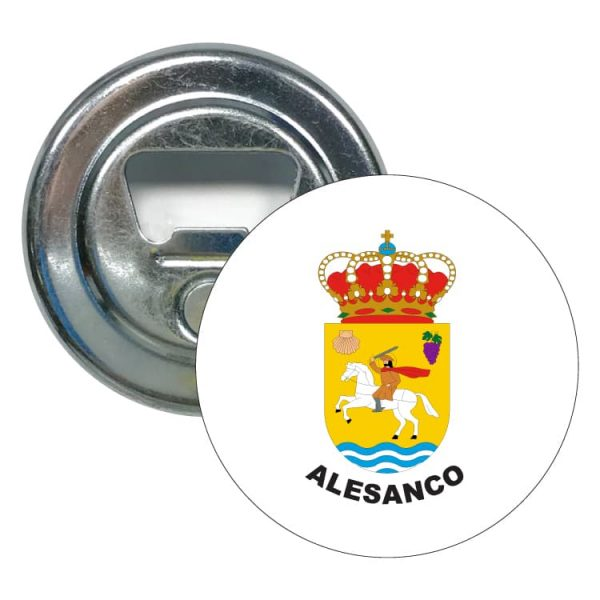 abridor redondo escudo heraldico alesanco