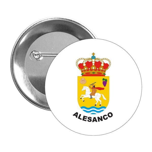 966 chapa escudo heraldico alesanco