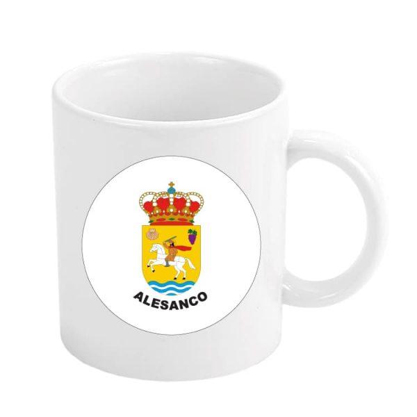 taza escudo heraldico alesanco