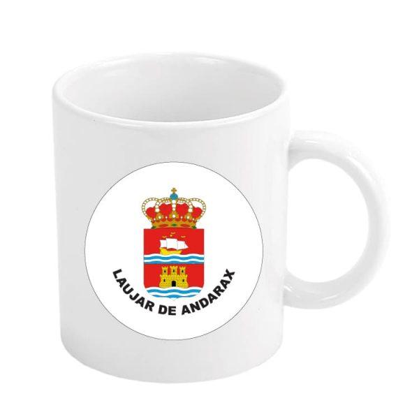 968 taza escudo heraldico laujar de andarax