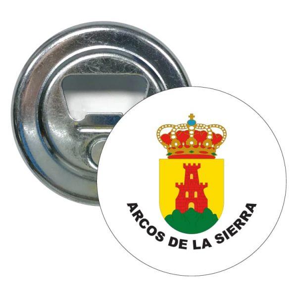 abridor redondo escudo heraldico arcos de la sierra