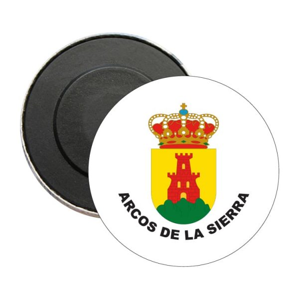 iman redondo escudo heraldico arcos de la sierra