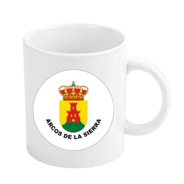 taza escudo heraldico arcos de la sierra