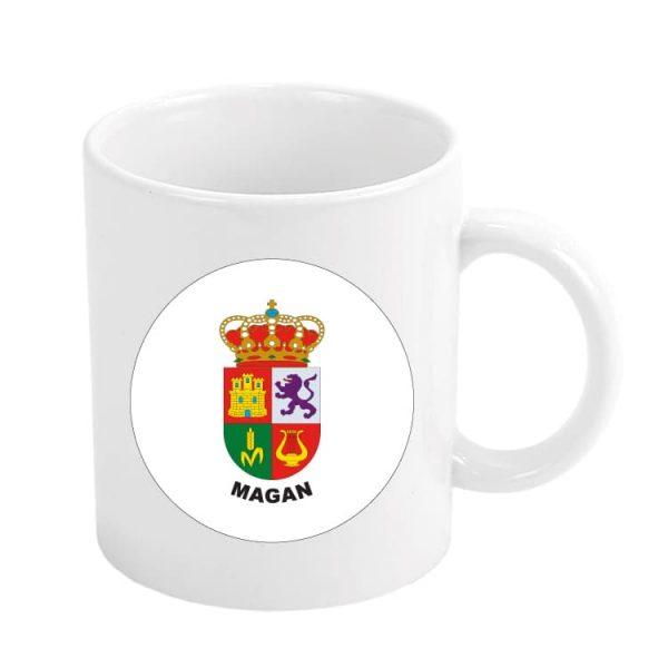 taza escudo heraldico magan