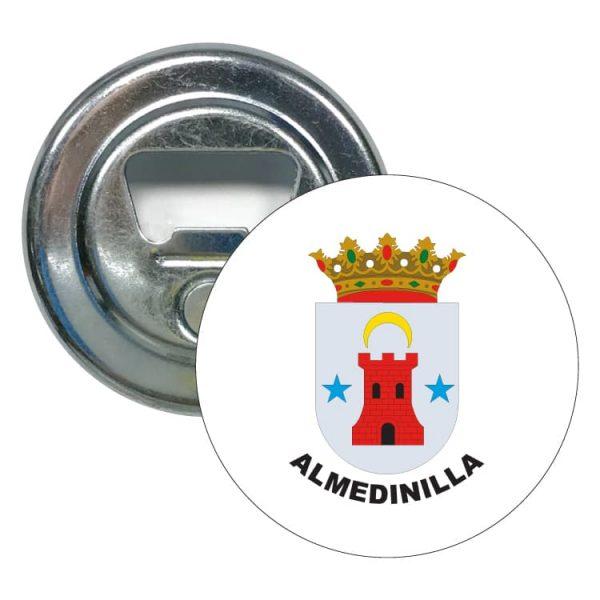 abridor redondo escudo heraldico almedinilla