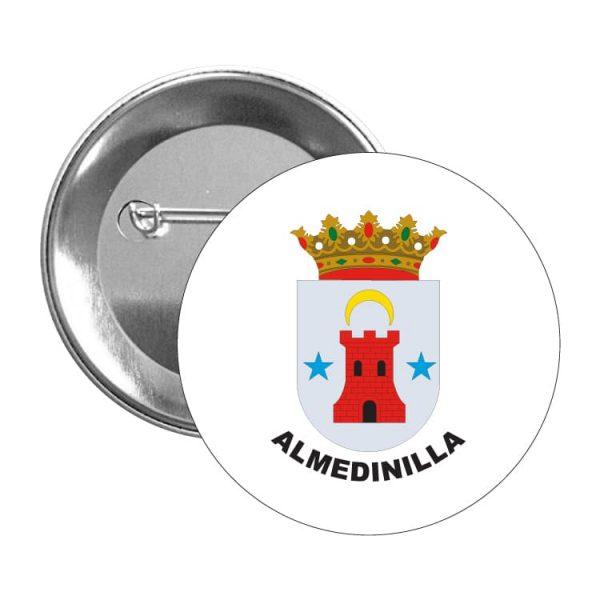 chapa escudo heraldico almedinilla