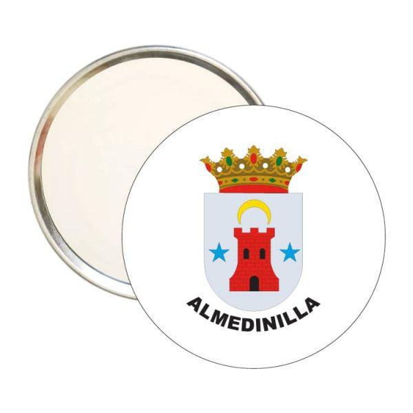 espejo redondo escudo heraldico almedinilla