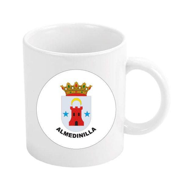 taza escudo heraldico almedinilla