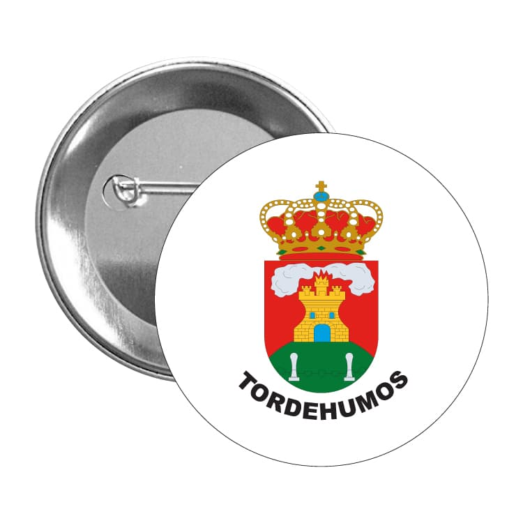 973 chapa escudo heraldico tordehumos