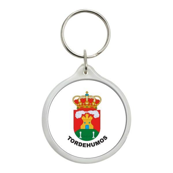 llavero redondo escudo heraldico tordehumos