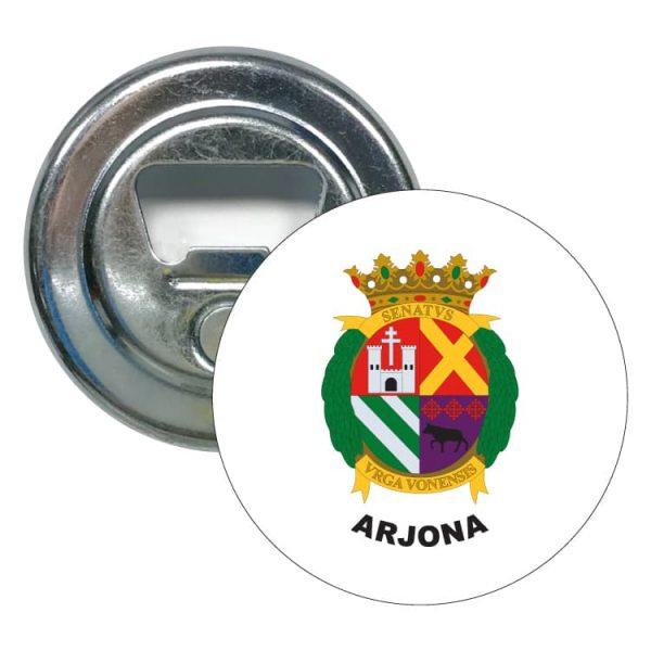 abridor redondo escudo heraldico arjona