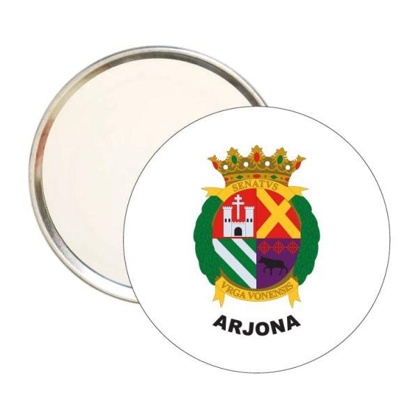 espejo redondo escudo heraldico arjona