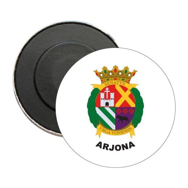 iman redondo escudo heraldico arjona