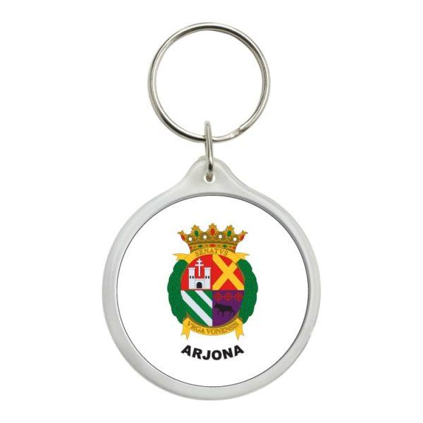 llavero redondo escudo heraldico arjona