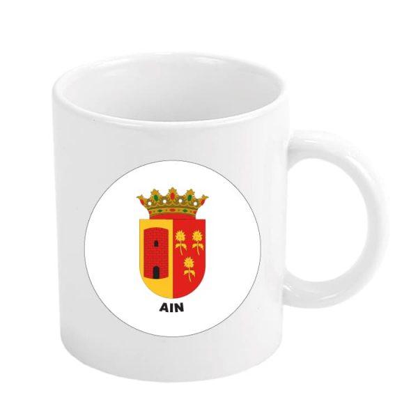 taza escudo heraldico ain