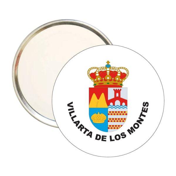 espejo redondo escudo heraldico villarta de los montes