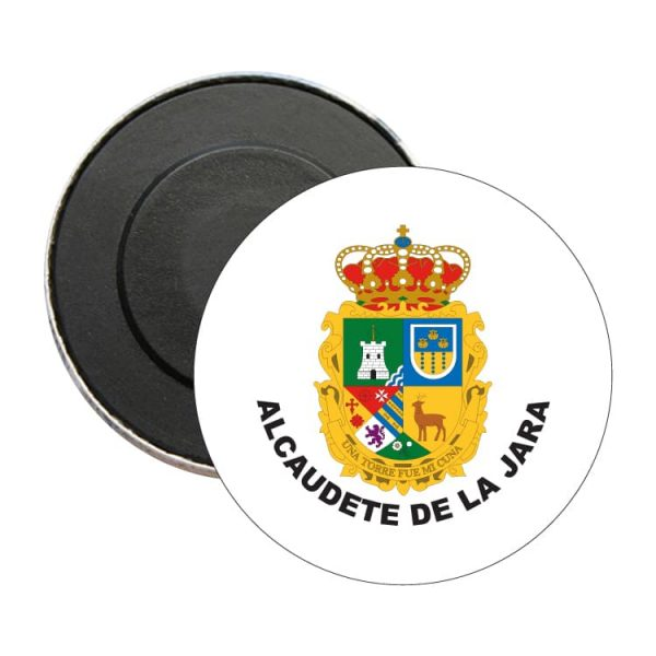 iman redondo escudo heraldico alcaudete de la jara
