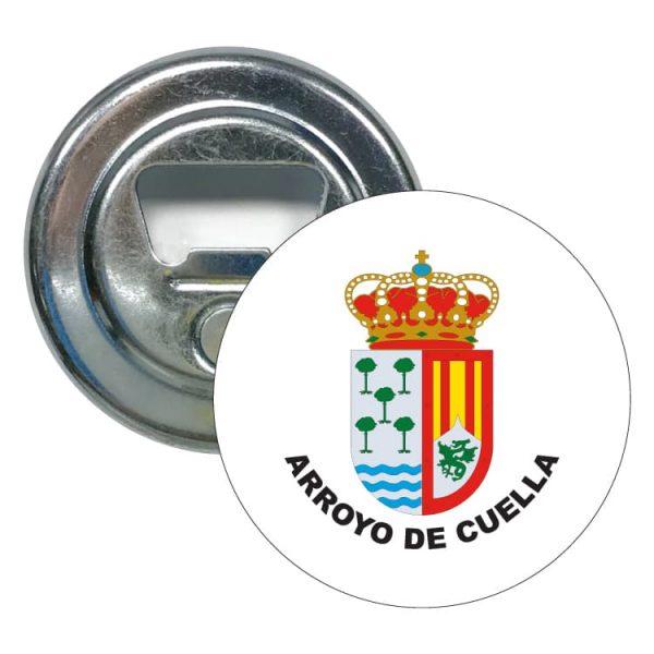 abridor redondo escudo heraldico arroyo de cuella