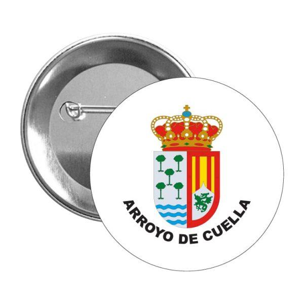 980 chapa escudo heraldico arroyo de cuella