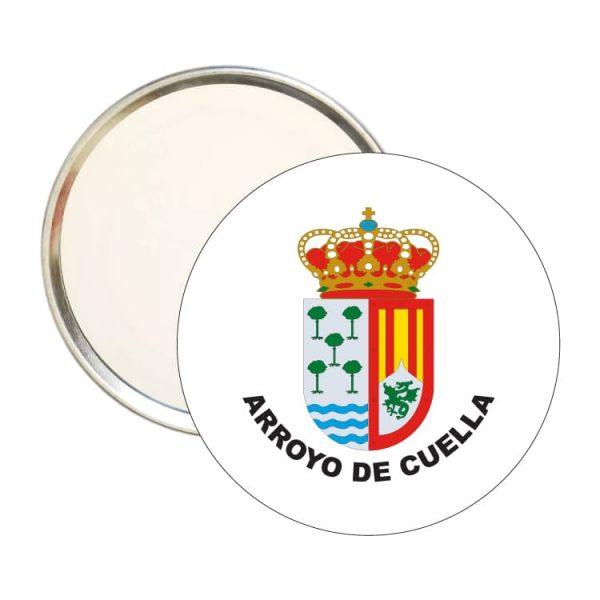 espejo redondo escudo heraldico arroyo de cuella