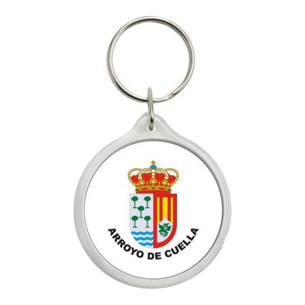 llavero redondo escudo heraldico arroyo de cuella