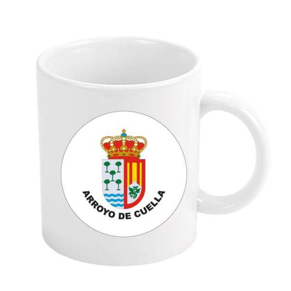 taza escudo heraldico arroyo de cuella