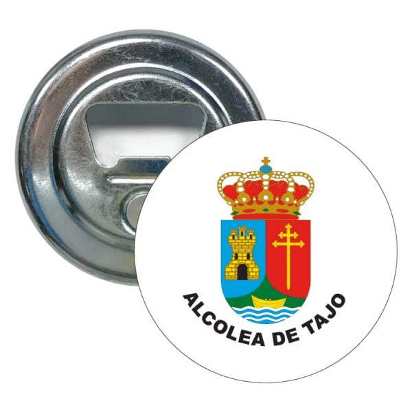 abridor redondo escudo heraldico alcolea de tajo